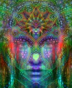 Meditation And Mindfulness The Same Kaleidoscope Art, Spiritual Tattoo, Art Visionnaire, Meditation, Nova Era, Psy Art, Visionary Art, Psychedelic Art, Third Eye