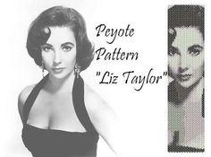 #Peyote #pattern  for #bracelet cuff  Liz Taylor di LePCCdiMeri, €2.10   #etsy #liztaylor