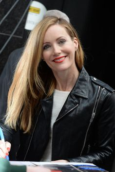 It's time for the long-haired ladies to ditch the layers: Blunt, straight-across ends like Leslie Mann's are having a major moment.  Rojas Styling Tip: Apply a heat protectant lotion, then blow dry your hair with a paddle brush from one side to the other. Then, section off and straighten with a flatiron. Part your hair where you desire, and use a strong holding hairspray to keep the part down and intact. Finally, apply serum for shine, and give the ends one last visit with the straightener.