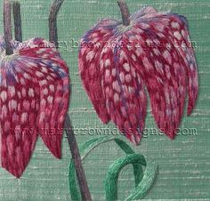 Silk Shaded Fritillaries, by Mary Brown
