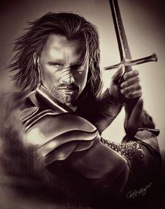 Dúnadain, the heir of Isildur Elendil's son of Gondor ...