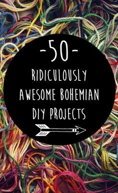 50 Ridiculously Awesome Bohemian DIY Projects {Boho hippie home decor, bath & be. - 50 Ridiculously Awesome Bohemian DIY Projects {Boho hippie home decor, bath & beauty, jewelry, clot - decor diy hippies Boho Hippie, Bohemian Style Home, Hippie Home Decor, Modern Bohemian, Bohemian Art, Bohemian House, Hippie House, Modern Hippie Style, Boho Gypsy