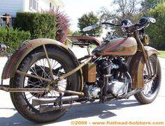 Photo of 1930 Harley VC 74ci Flathead Vintage Motorcycle by Al.