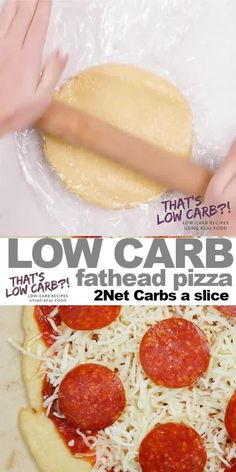 Fathead Pizza Dough brings the low carb magic to your pizza lover lifestyle. Because being Keto doesn't mean having to give up your favorite dishes. Low Carb Fast Food, Low Fat Low Carb, Healthy Low Carb Recipes, Low Carb Pizza, Low Carb Dinner Recipes, Low Carb Keto, Keto Recipes, Pizza Recipes, Low Carb Food List