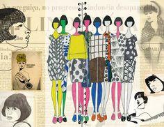 Fashion Sketchbook, Fashion Sketches, Ronaldo Fraga, Fashion Portfolio, Pattern Cutting, Illustrations Posters, Illustration Art, Illustration Fashion, Graffiti