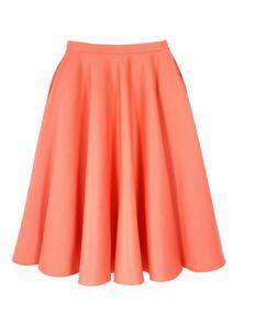 ASOS Midi Skirt,$65. i love pastels in the winter.