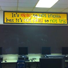Love that quote! I WILL have this up in my room next year!