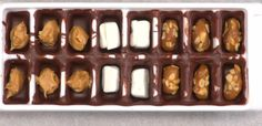 Ice Cube Tray Chocolates Fillings - Christmas gift idea