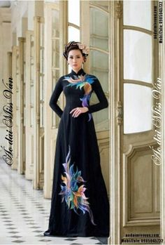 Ao dai ao dai pinterest kleider for Traditionelles chinesisches haus hanoi