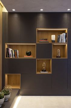 Wall Units Woman Knitwear and Sweaters womans turtle neck sweaters Living Room Tv Unit, Home Living Room, Living Room Designs, Cupboard Design, Shelf Design, Office Interior Design, Office Interiors, Home Office Space, Furniture Design