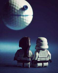 Isn't it romantic? Star Wars Love.