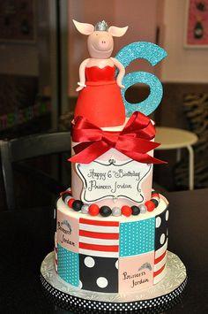 Olivia inspired Birthday Cake