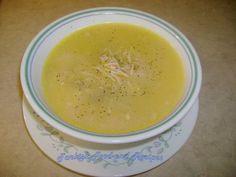 Turkish Soup--Chicken Soup with Vermicelli (Sehriyeli Tavuk Corbasi)