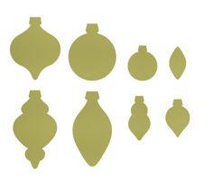 Holiday Ornaments Framelits Die - SU