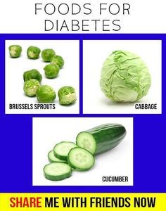 Foods For Diabetes.