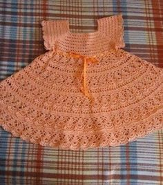 |How to crochet|: Crochet Patterns| for free |crochet baby dress| 19...