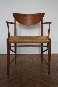 1940s Chair by PETER HVIDT & ORLA MOLGAARD-NIELSEN