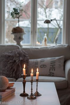 ❤❤❤ pillows neutrals candles