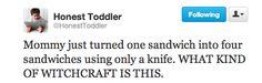 Honest Toddler: