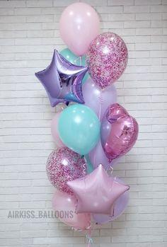 Baby shower balloons ideas happy 21 Ideas for 2019 Unicorn Themed Birthday Party, Mermaid Birthday, Unicorn Party, 1st Birthday Parties, Girl Birthday, Birthday Balloon Decorations, Birthday Balloons, Baby Shower Balloons, Deco Ballon