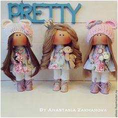 Купить Кукла ручной работы - разноцветный, кукла ручной работы, кукла, интерьер, интерьерная кукла