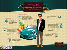 7 Traits All Internet Millionaires Have In Common [Infographic]
