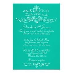 This DealsSimple Luxury Turquoise Wedding Invitations Personalized Announcementyou will get best price offer lowest prices or diccount coupone