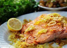 Salmon in citrus sauce (#salmon)