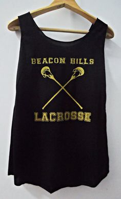 Teen Wolf Beacon Hills Lacrosse Tank Top    Thank you for visiting  ☆For more cool stuffs, give us a visit to our Shop ☆