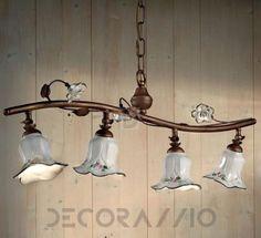Светильник  потолочный подвесной Ferroluce Pisa, C1207/4 SO