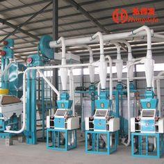 10t maize mill machine from Shijiahuzhuang Hongdefa#cornflourmill #Chinamaizemillmachine