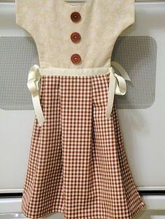 oven door dish towel dress