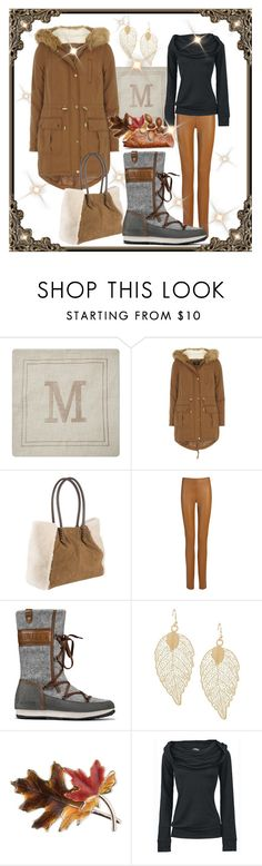 """Winter Wear"" by summer-marin ❤ liked on Polyvore featuring Threshold, Dorothy Perkins, UGG, Joseph and Anne Klein"