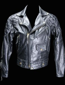 The classic, timeless, padded Columbia jacket - #Langlitz Leathers.