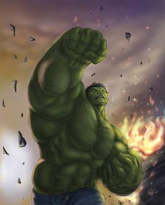 #Hulk #Fan #Art. (Hulk) By:AtilaBass. ÅWESOMENESS!!!™ ÅÅÅ+