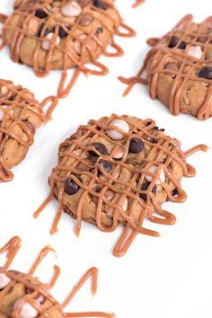 Pumpkin Caramel Chocolate Chip Cookies | Sprinkles For Breakfast
