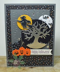 Halloween Fun by Chris Slogar - Cards and Paper Crafts at Splitcoaststampers