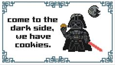 Darth Vader Come to the Dark Side PDF Cross-stitch par dorkstitch
