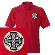 Celtic Cross Men's Polo