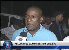 Asaltan Dos Camiones En San Luis DN