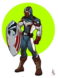 Commissions to see marvels mantle bearers. Patriot by Marvel Art by Cheunchin Patriot-Rayshaun Lucas Marvel Concept Art, Marvel Art, Marvel Comics, Black Anime Characters, Superhero Characters, Marvel Comic Universe, Comics Universe, Captain America Movie, Capt America