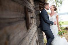 Brudpar, sommar, bröllop