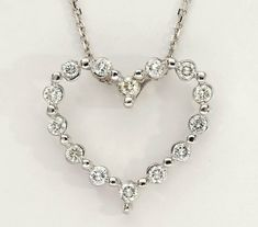 18K Y//G .10ct twt Diamond Pendant