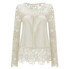 Lztlylzt 2016 Verão Chiffon Mulheres Blusas de Manga Longa Branca Lace Up Ladies Mulheres Tops Blusas Camisas Das Mulheres Roupas Plus Size