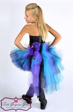 Diy rock star costume ideas pesquisa google tutus pinterest rock star bustle tututurquoise black purple by tutugorgeousgirl solutioingenieria Image collections