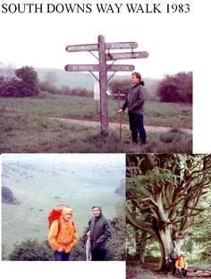 Walking in the South Downs Way - check the weather before you go...  http://www.southdownsdiscovery.com/weather.php