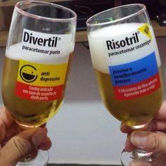 Cerveja também é um bom remédio