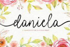 Daniela Script (30% Off) by Seniors on @creativemarket
