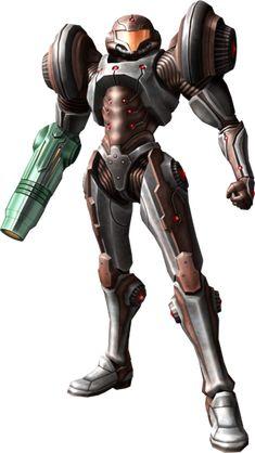 Samus Aran - Dark Suit (Metroid Prime 2: Echoes)