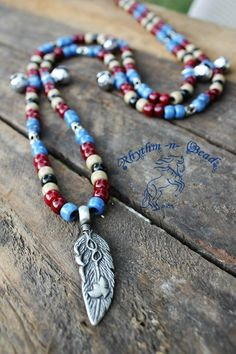indian rhythm beads for horses | rhythm-n-bead... Natural horsemanship rhythm bead necklaces for horses ...